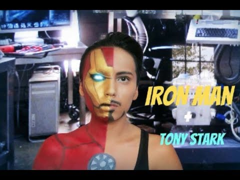 Iron Man + Tony Stark Transformation