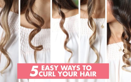 5 Easy Ways to Curl Your Hair | Luxy Hair