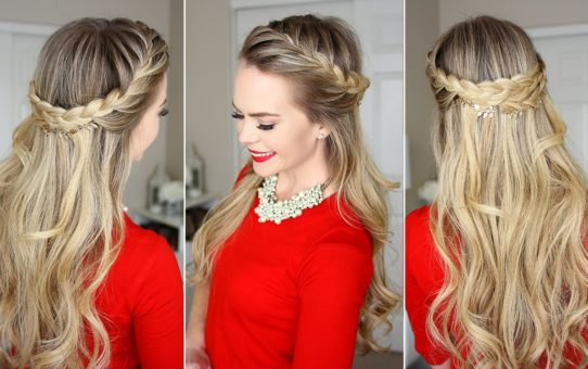 French Braid Crown: Last Minute Holiday Hairstyle