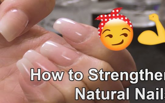 How to Strengthen Natural Nails with an Acrylic Overlay