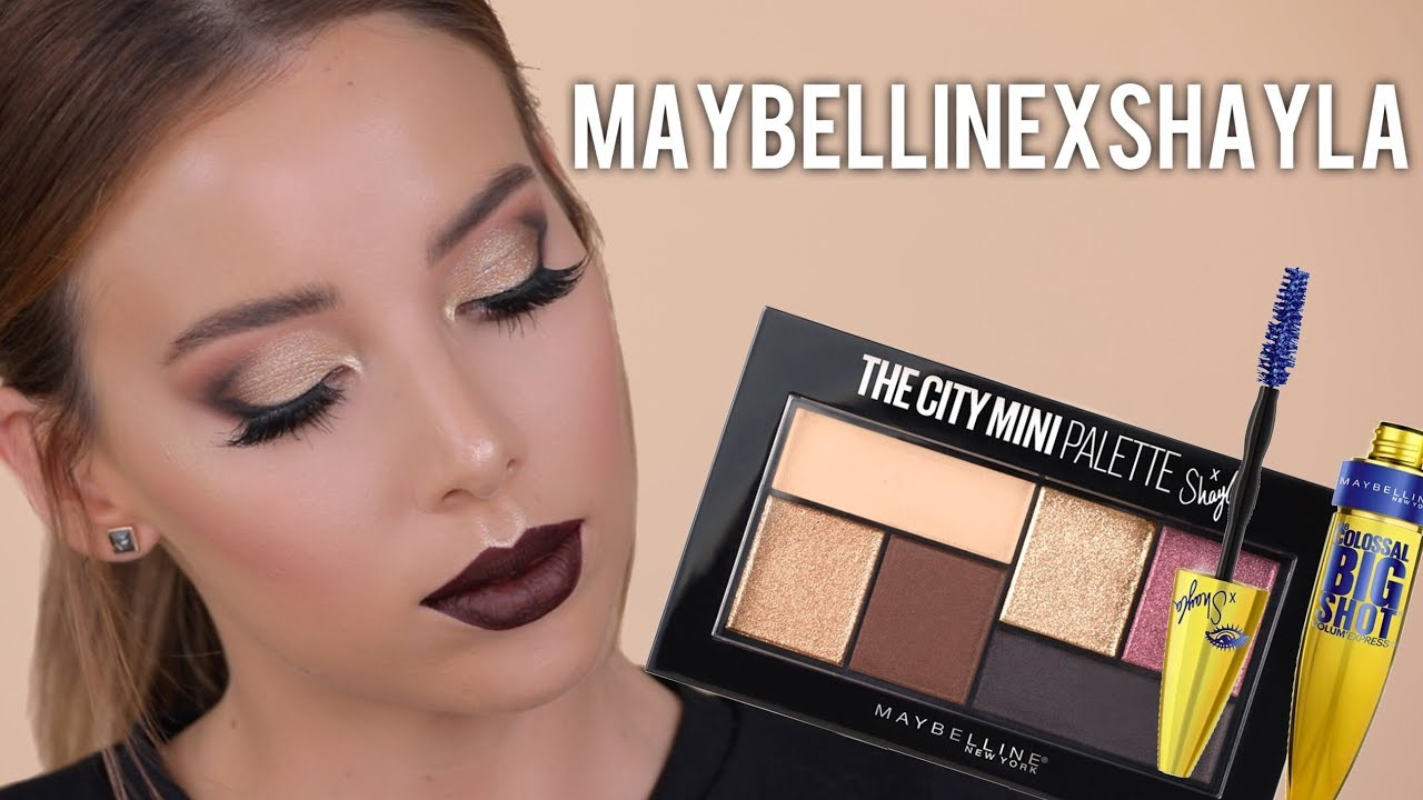 MAYBELLINE X SHAYLA COLLECTION TUTORIAL