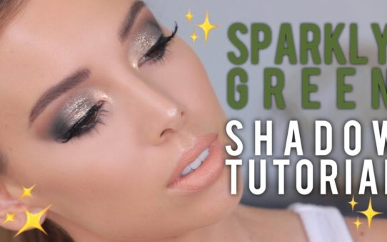 Sparkly Green Eyeshadow Tutorial