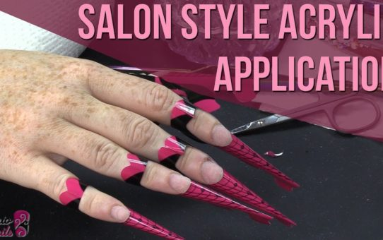 How to: Salon Style Acrylic Application – One Bead Application